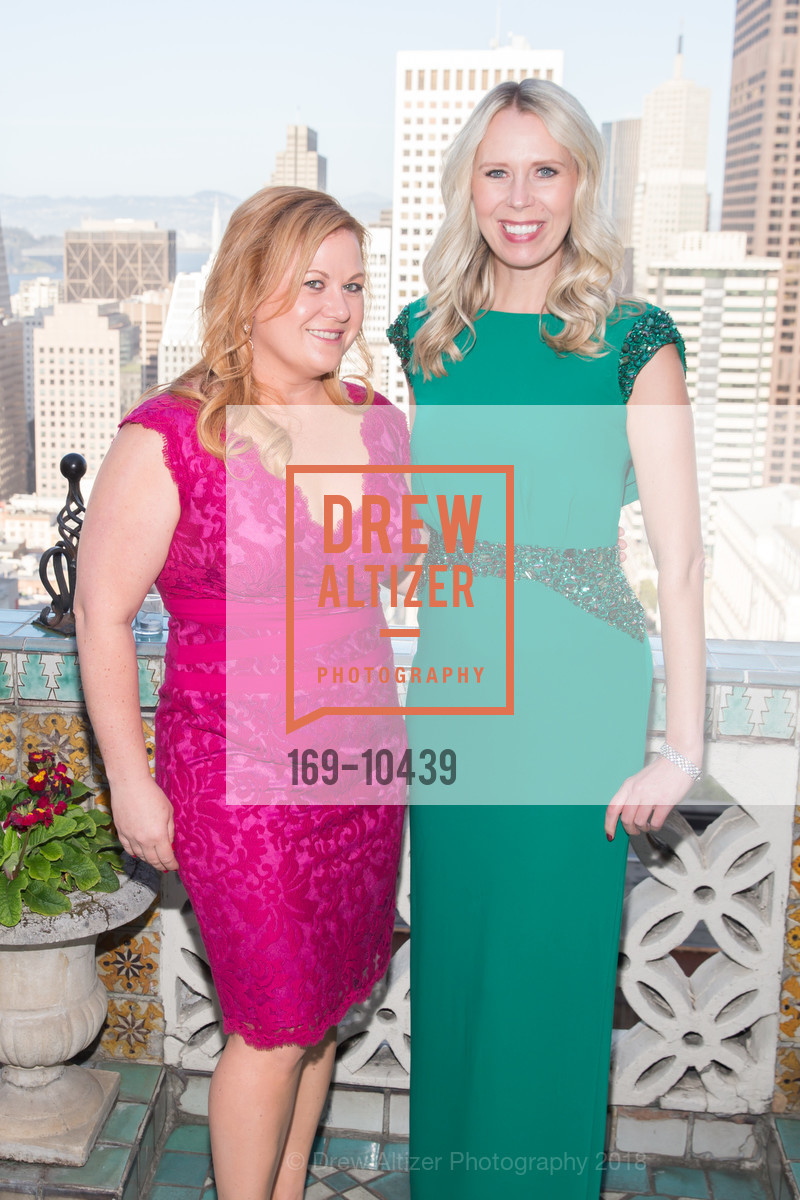 Colleen Crush, Kristin Nevius, UCSF Partners in Care Soiree 2018, The Fairmont Nob Hill, April 14th, 2018