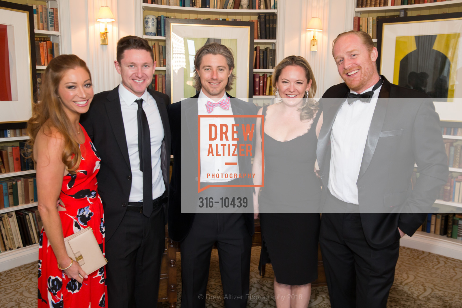 Whitney Hudak, James Field, Dan Fleming, UCSF Partners in Care Soiree 2018, The Fairmont Nob Hill, April 14th, 2018