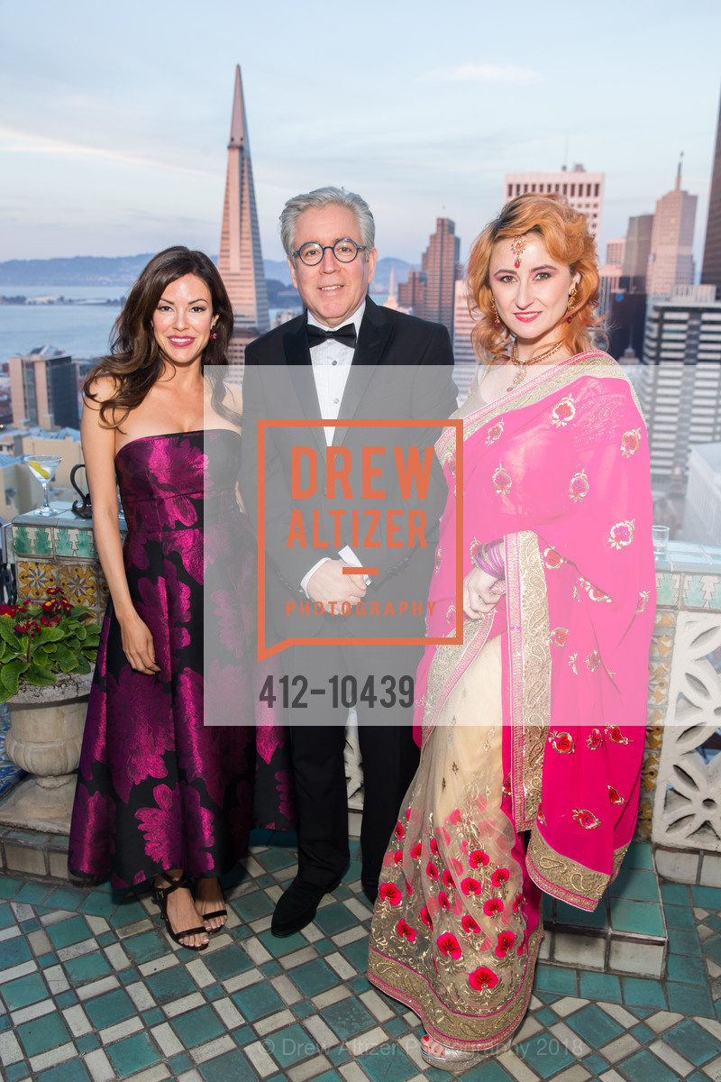 Colette Devou, Joseph Gastenaga, Melissa Bolin, UCSF Partners in Care Soiree 2018, The Fairmont Nob Hill, April 14th, 2018
