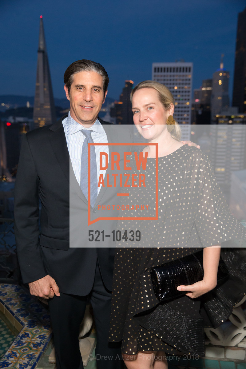 David Lowi, Amber Lowi, UCSF Partners in Care Soiree 2018, The Fairmont Nob Hill, April 14th, 2018