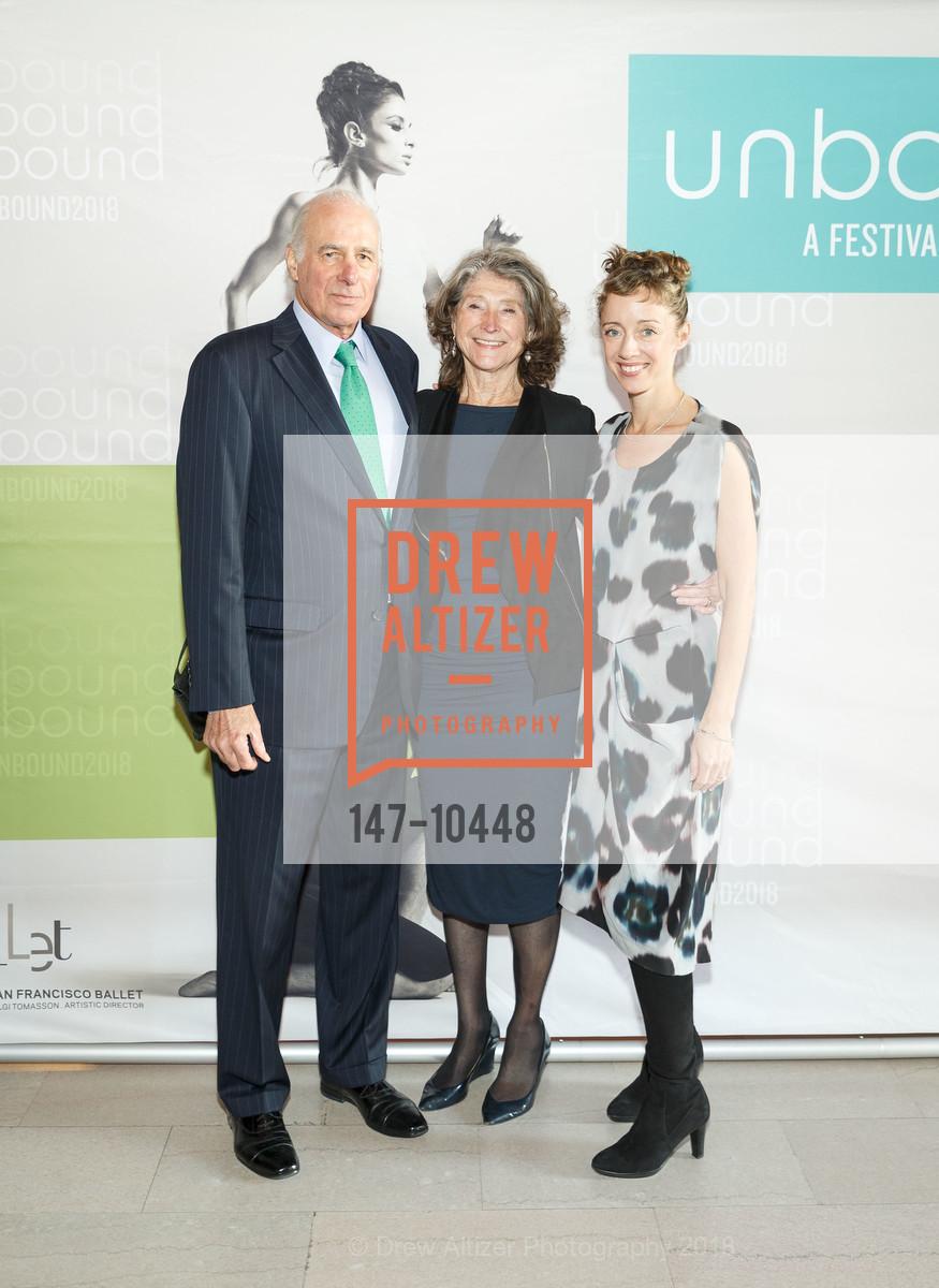John Osterweis, Barbara Osterweis, Cathy Marston, Photo #147-10448