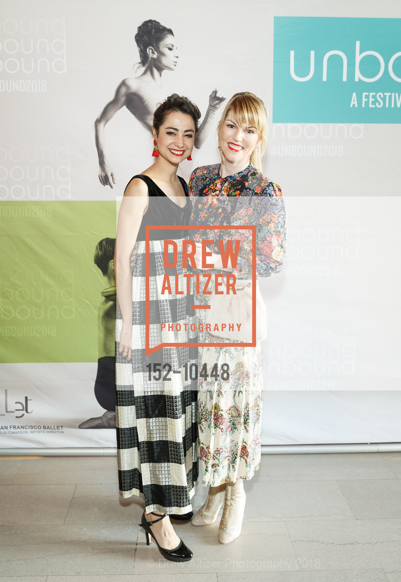 Mathilde Froustey, Tiffany Lockridge, SF Ballet's Stage Dinner 2018 - Unbound: A Festival of New Works, War Memorial Opera House. 301 Van Ness, April 16th, 2018