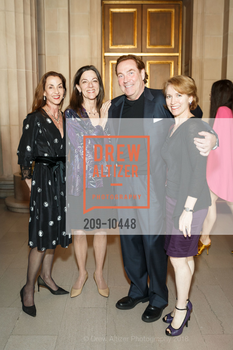 Natalie Meyjes, Anita Paciotti, Dan McGarry, Tina LeBlanc, SF Ballet's Stage Dinner 2018 - Unbound: A Festival of New Works, War Memorial Opera House. 301 Van Ness, April 16th, 2018