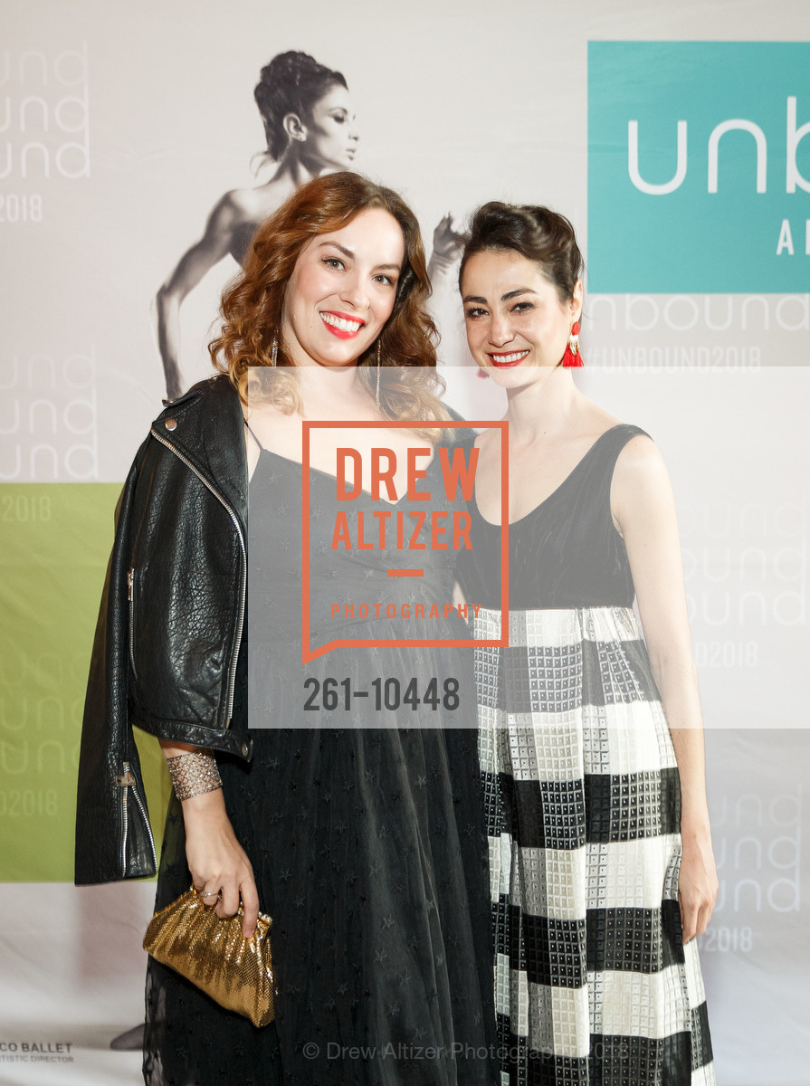 Jeana Pfeifer, Mathilde Froustey, SF Ballet's Stage Dinner 2018 - Unbound: A Festival of New Works, War Memorial Opera House. 301 Van Ness, April 16th, 2018