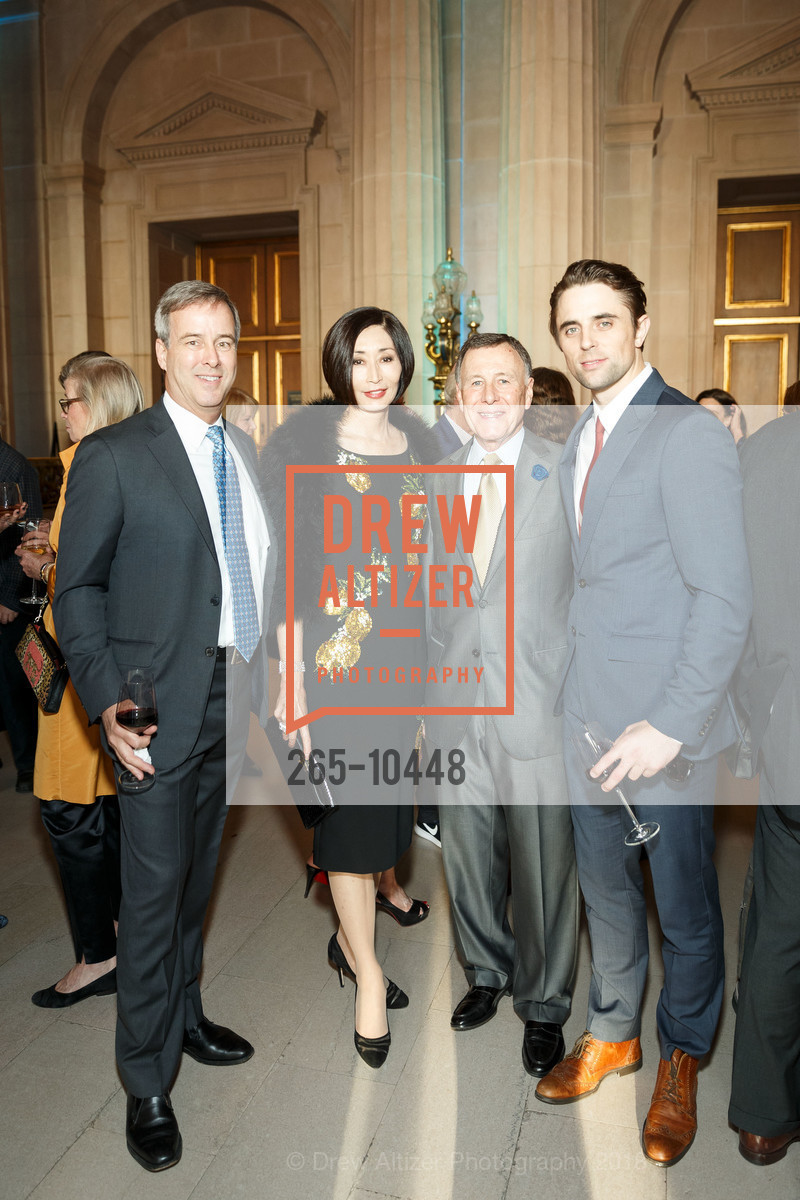 Bob Shaw, Yurie Pascarella, Carl Pascarella, Luke Ingham, SF Ballet's Stage Dinner 2018 - Unbound: A Festival of New Works, War Memorial Opera House. 301 Van Ness, April 16th, 2018,Drew Altizer, Drew Altizer Photography, full-service agency, private events, San Francisco photographer, photographer california