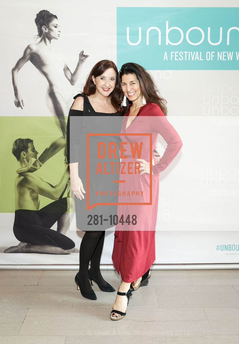 Laura Clifford, Erica Sandberg, SF Ballet's Stage Dinner 2018 - Unbound: A Festival of New Works, War Memorial Opera House. 301 Van Ness, April 16th, 2018