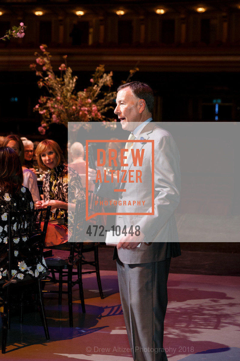 Carl Pascarella, SF Ballet's Stage Dinner 2018 - Unbound: A Festival of New Works, War Memorial Opera House. 301 Van Ness, April 16th, 2018