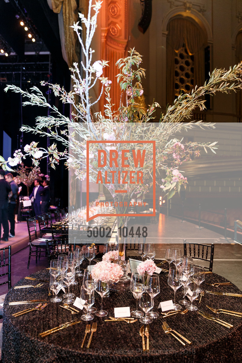 Atmosphere, SF Ballet's Stage Dinner 2018 - Unbound: A Festival of New Works, War Memorial Opera House. 301 Van Ness, April 16th, 2018