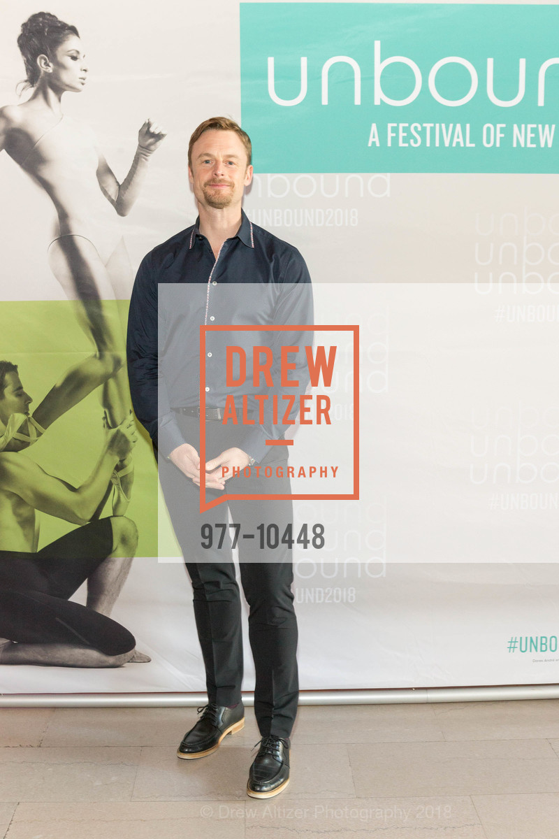 Christopher Wheelden, SF Ballet's Stage Dinner 2018 - Unbound: A Festival of New Works, War Memorial Opera House. 301 Van Ness, April 16th, 2018