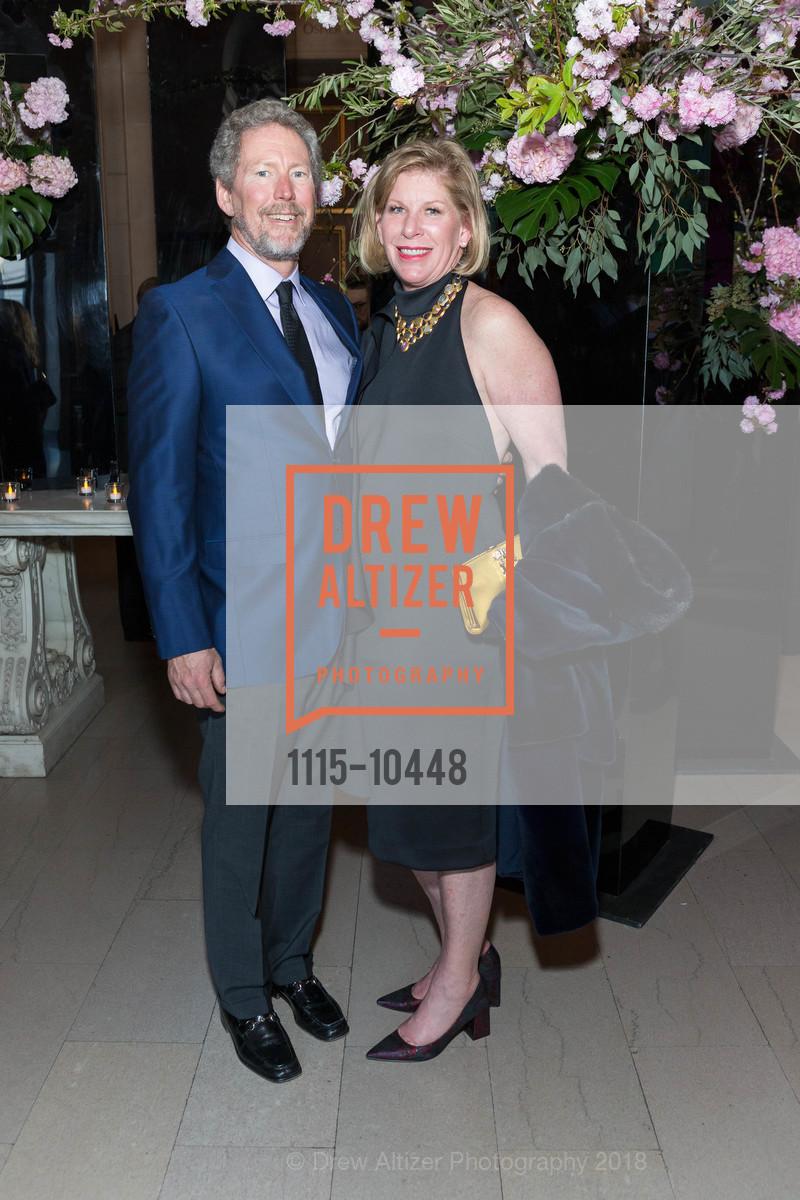 Bill Brandenburg, Jennifer Brandenburg, SF Ballet's Stage Dinner 2018 - Unbound: A Festival of New Works, War Memorial Opera House. 301 Van Ness, April 16th, 2018