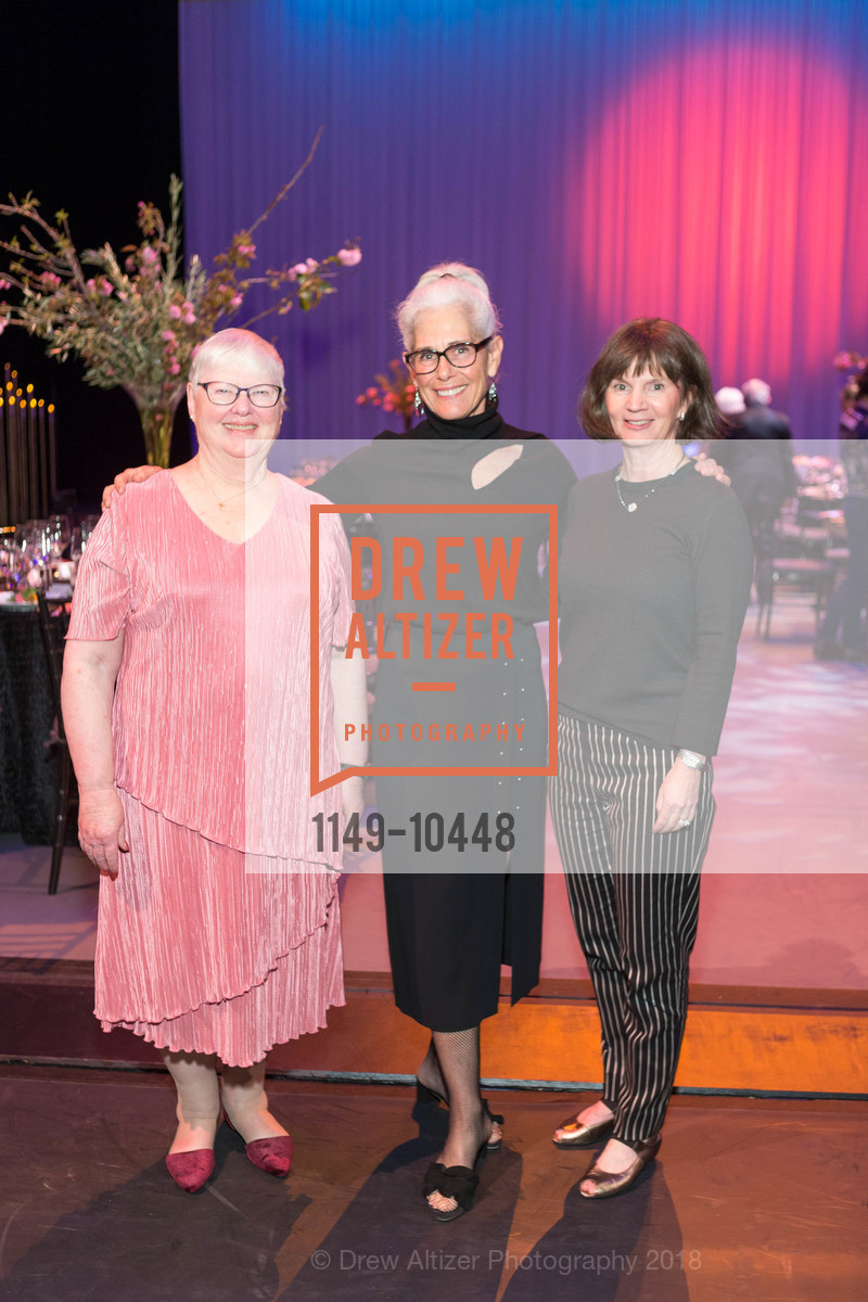 Shelly Carroll, Joanne Vidinsky, Joanne Osberg, SF Ballet's Stage Dinner 2018 - Unbound: A Festival of New Works, War Memorial Opera House. 301 Van Ness, April 16th, 2018,Drew Altizer, Drew Altizer Photography, full-service agency, private events, San Francisco photographer, photographer california