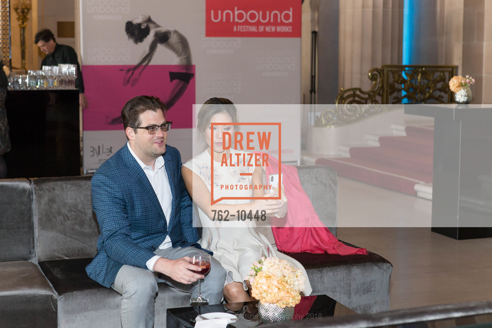 Mike Sout, Jean Wu, SF Ballet's Stage Dinner 2018 - Unbound: A Festival of New Works, War Memorial Opera House. 301 Van Ness, April 16th, 2018,Drew Altizer, Drew Altizer Photography, full-service agency, private events, San Francisco photographer, photographer california