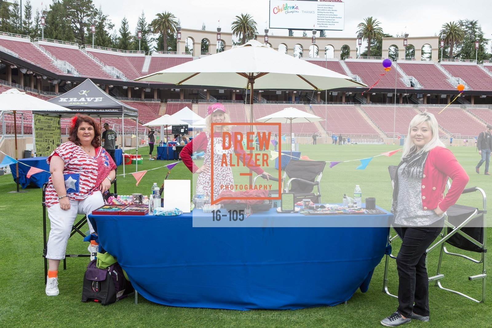 Sandra And Friends Face Painting, Children's Champions, Stanford Stadium. 	601 Nelson Rd, May 16th, 2015,Drew Altizer, Drew Altizer Photography, full-service agency, private events, San Francisco photographer, photographer california