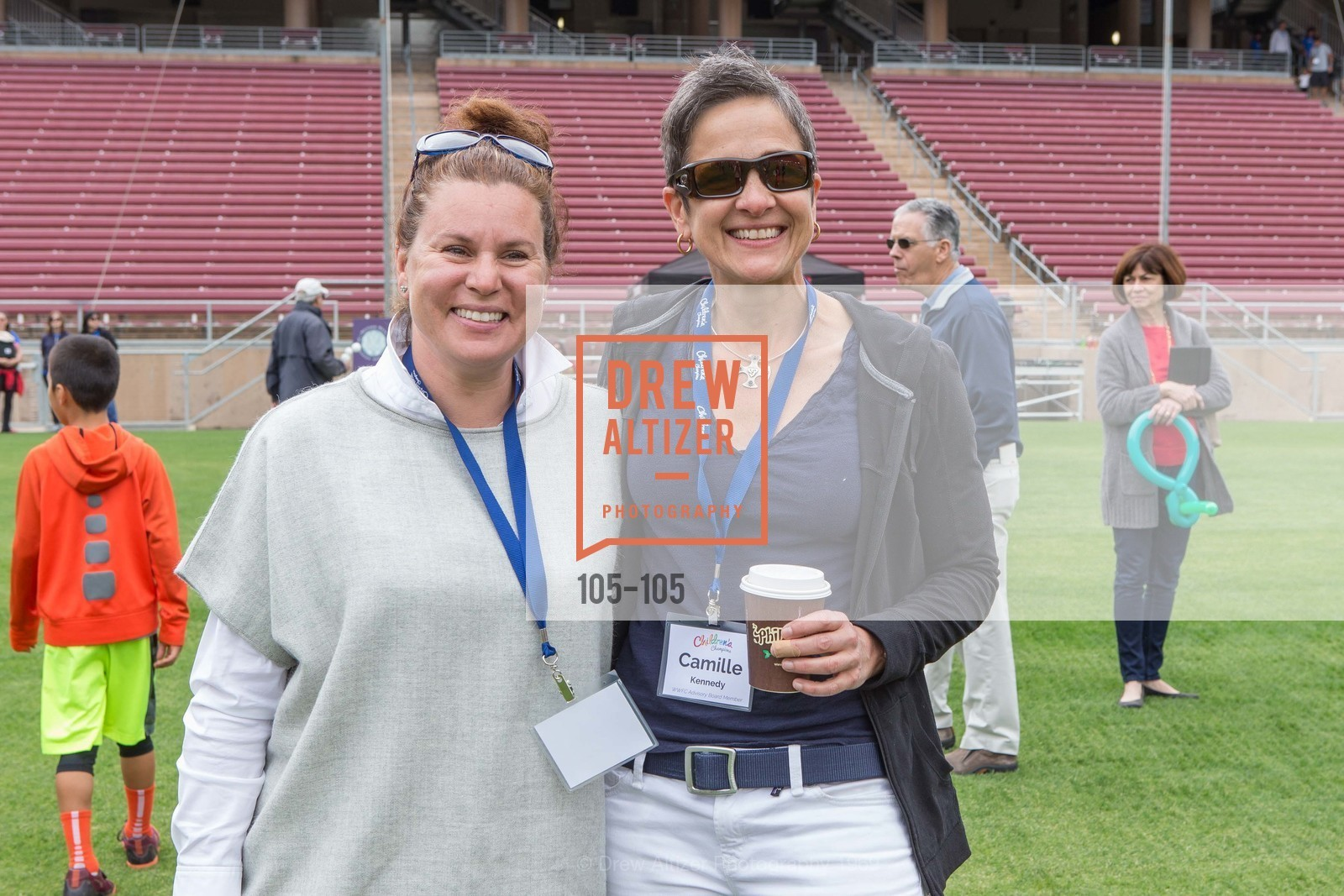 Wendy Dyckerhoff, Camille Kennedy, Children's Champions, Stanford Stadium. 	601 Nelson Rd, May 16th, 2015,Drew Altizer, Drew Altizer Photography, full-service agency, private events, San Francisco photographer, photographer california
