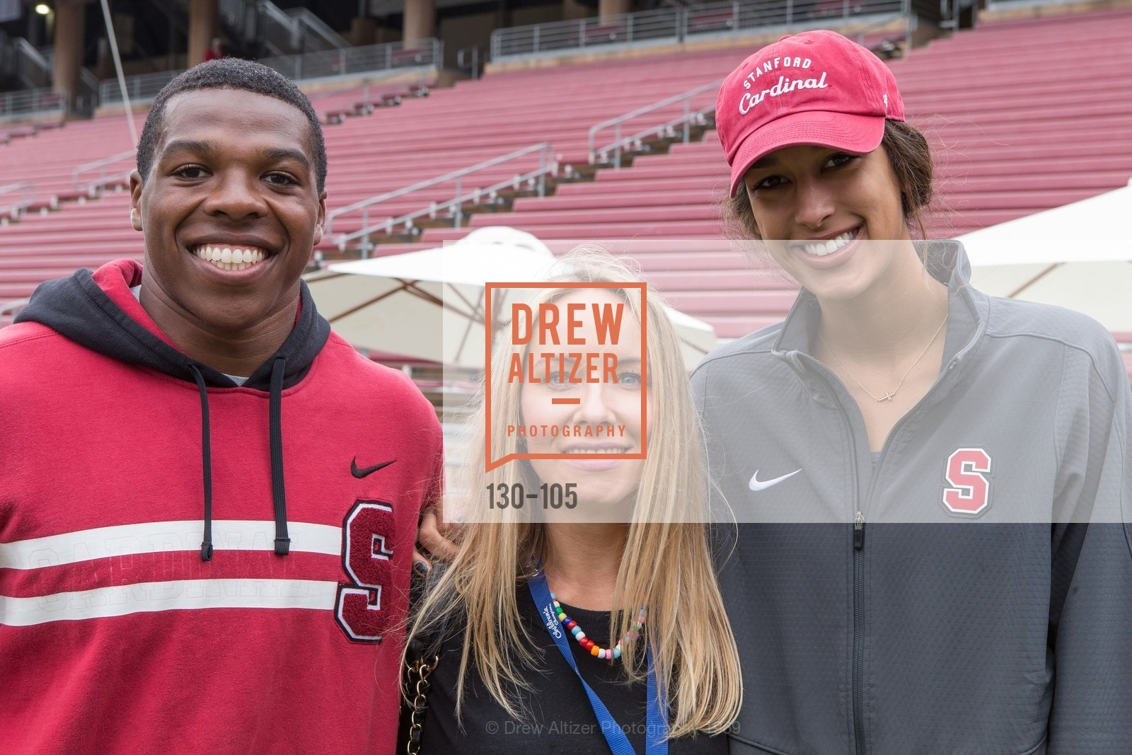 Jordan Richards, Carson Eltoukhy, Kailee Johnson, Children's Champions, Stanford Stadium. 	601 Nelson Rd, May 16th, 2015,Drew Altizer, Drew Altizer Photography, full-service event agency, private events, San Francisco photographer, photographer California
