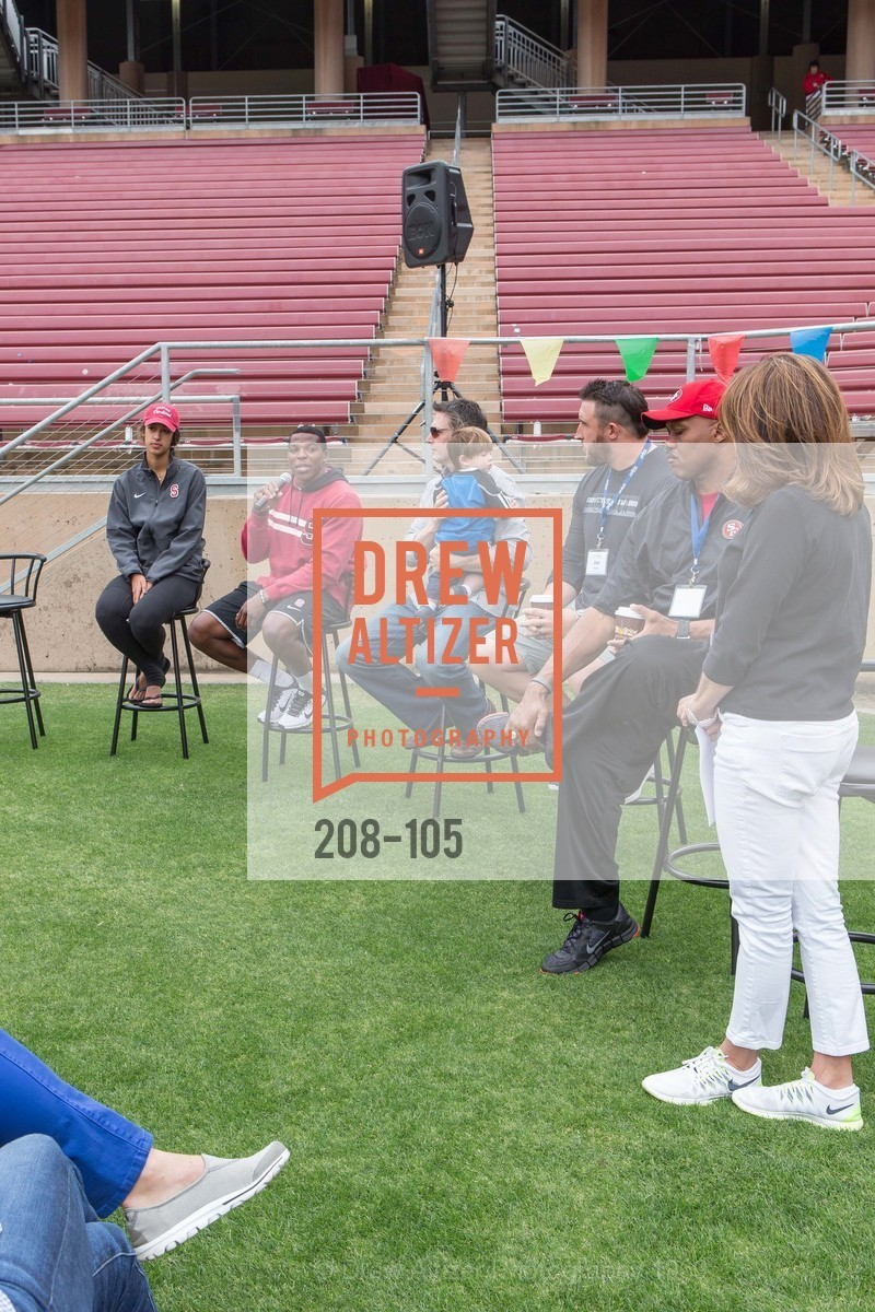 Kailee Johnson, Jordan Richards, Joe Cannon, Joe Staley, Dennis Brown, Mindi Bach, Children's Champions, Stanford Stadium. 	601 Nelson Rd, May 16th, 2015,Drew Altizer, Drew Altizer Photography, full-service event agency, private events, San Francisco photographer, photographer California
