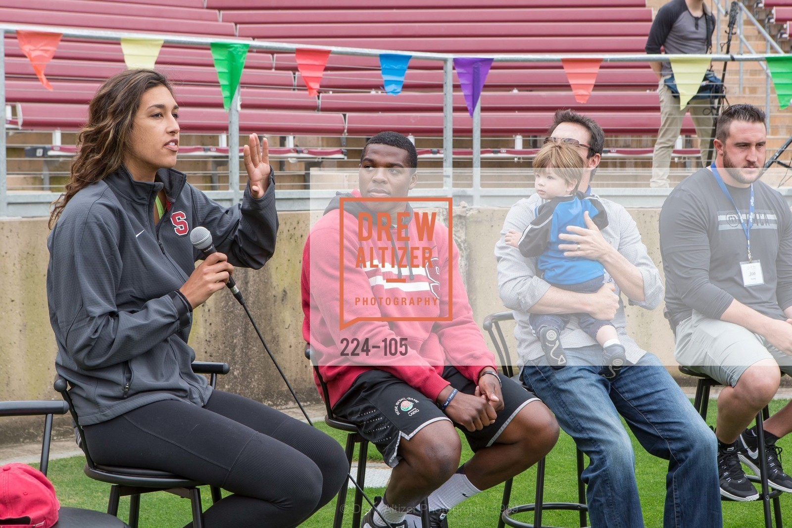Kailee Johnson, Jordan Richards, Joe Cannon, Joe Staley, Children's Champions, Stanford Stadium. 	601 Nelson Rd, May 16th, 2015,Drew Altizer, Drew Altizer Photography, full-service agency, private events, San Francisco photographer, photographer california