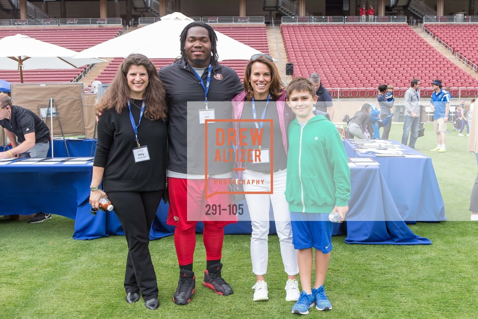 Amy Wender-Hoch, Ian Williams, Mindi Bach, Mitchell Bach, Children's Champions, Stanford Stadium. 	601 Nelson Rd, May 16th, 2015,Drew Altizer, Drew Altizer Photography, full-service agency, private events, San Francisco photographer, photographer california