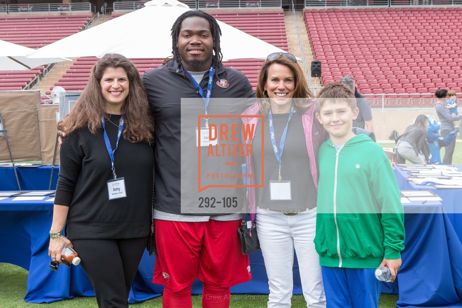 Amy Wender-Hoch, Ian Williams, Mindi Bach, Mitchell Bach, Children's Champions, Stanford Stadium. 	601 Nelson Rd, May 16th, 2015,Drew Altizer, Drew Altizer Photography, full-service event agency, private events, San Francisco photographer, photographer California