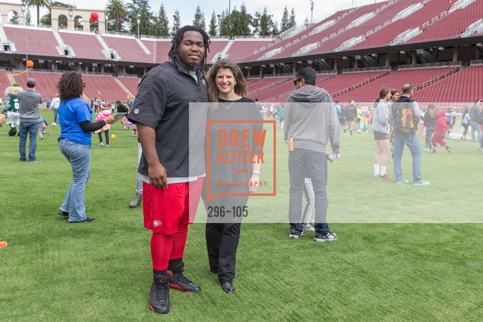 Ian Williams, Amy Wender-Hoch, Children's Champions, Stanford Stadium. 	601 Nelson Rd, May 16th, 2015,Drew Altizer, Drew Altizer Photography, full-service agency, private events, San Francisco photographer, photographer california