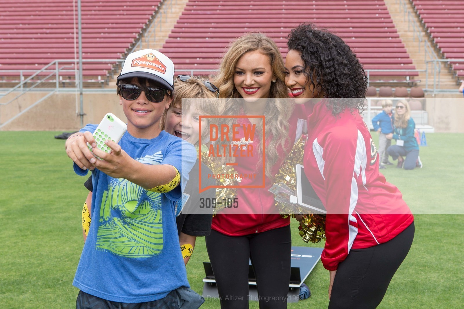 Sophia, Tyesha, Children's Champions, Stanford Stadium. 	601 Nelson Rd, May 16th, 2015,Drew Altizer, Drew Altizer Photography, full-service agency, private events, San Francisco photographer, photographer california