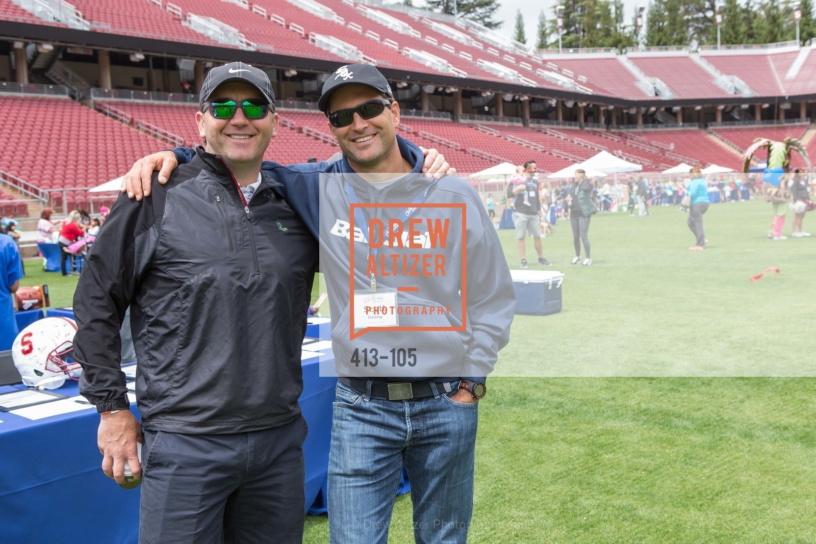 Matt Robinson, Scott Darling, Children's Champions, Stanford Stadium. 	601 Nelson Rd, May 16th, 2015,Drew Altizer, Drew Altizer Photography, full-service agency, private events, San Francisco photographer, photographer california