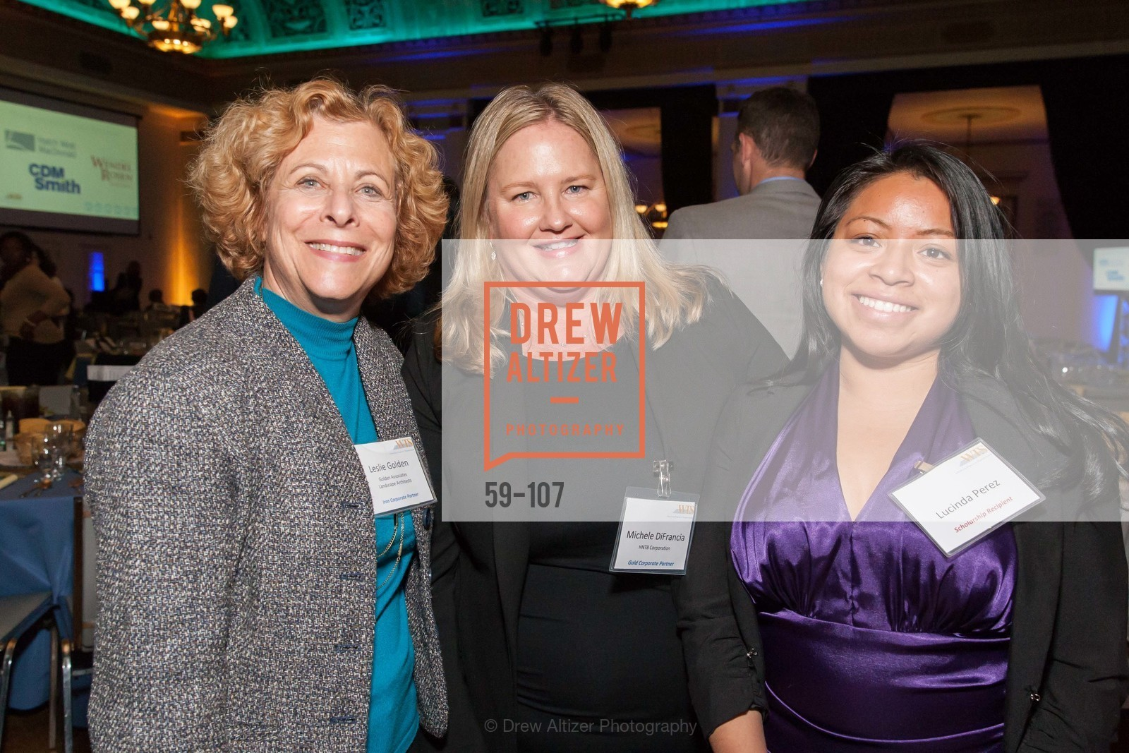 Leslie Golden, Michele DiFrancia, Lucinda Perez,  Women's Transportation Seminar  SF Bay Chapter  Annual Scholarship and Awards , 1547 Lakeside Drive, May 13th, 2015,Drew Altizer, Drew Altizer Photography, full-service agency, private events, San Francisco photographer, photographer california