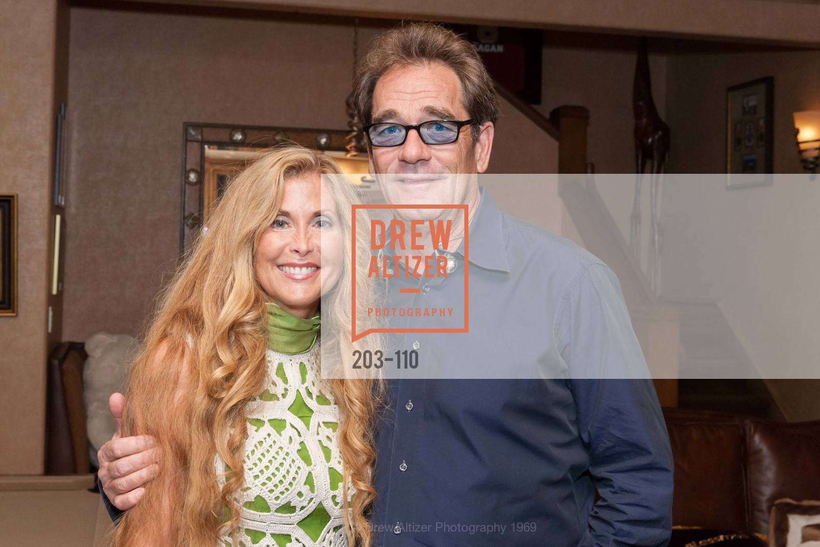 Sherry Cagan, Huey Lewis, LYME AID 2015 Benefiting the Bay Area Lyme Foundation, Private Residence, May 16th, 2015