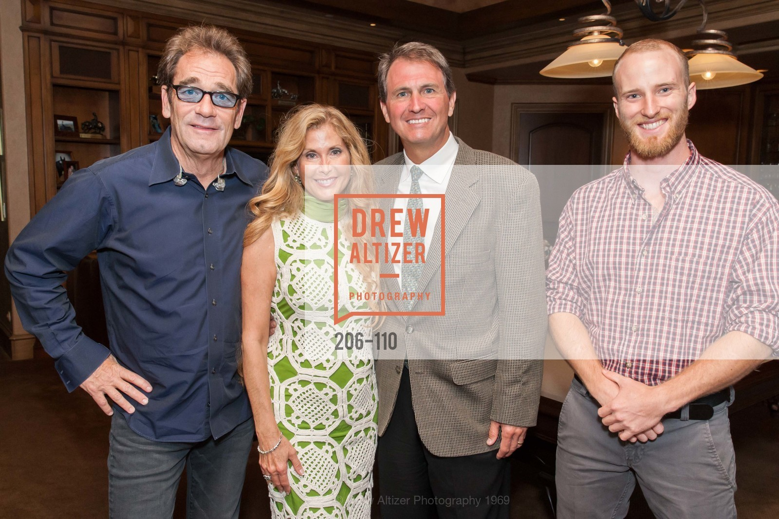 Huey Lewis, Sherry Cagan, Laird Cagan, Elet Hall, LYME AID 2015 Benefiting the Bay Area Lyme Foundation, Private Residence, May 16th, 2015