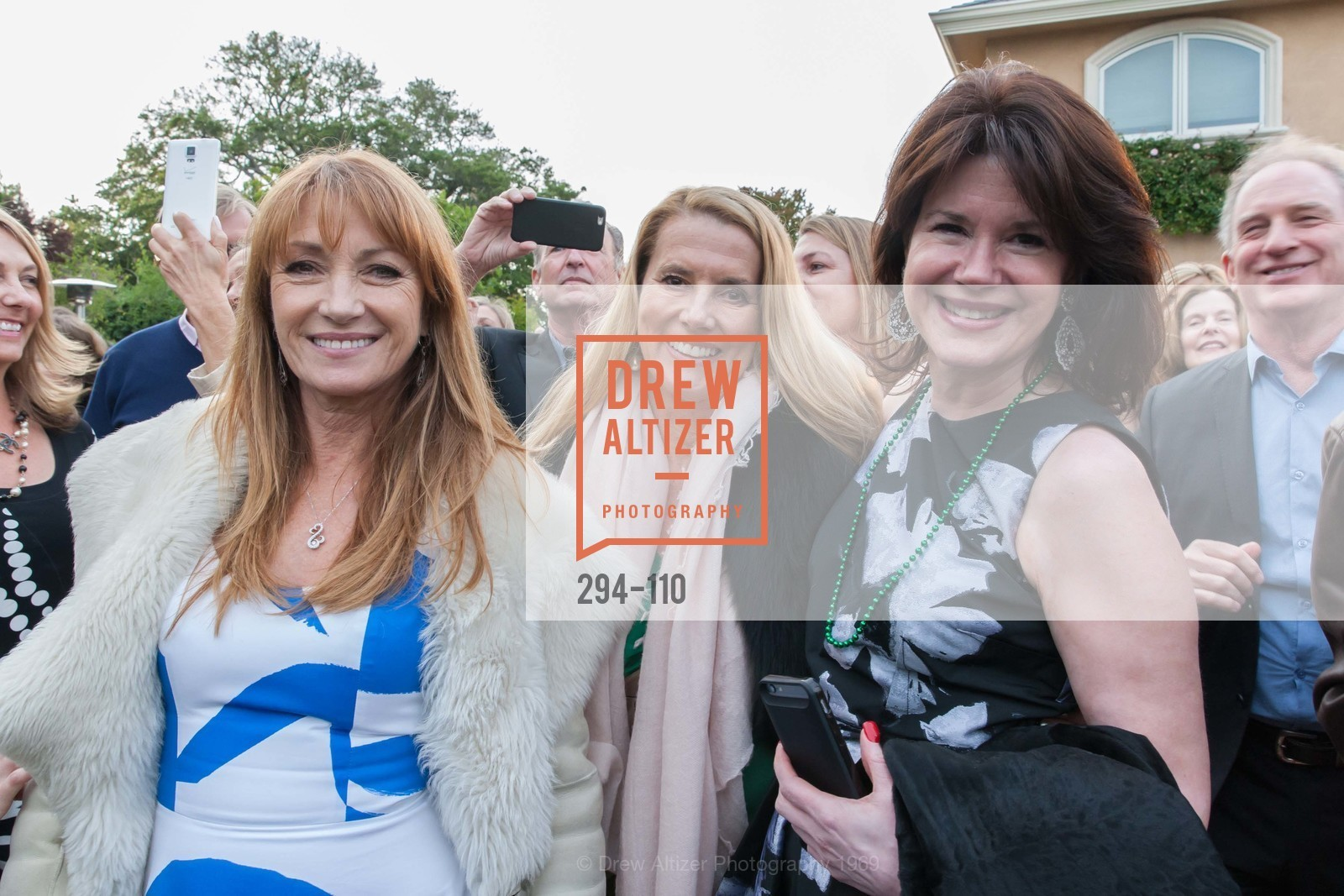 Jane Seymour, Christine DeLimur, Elaine Mellis, LYME AID 2015 Benefiting the Bay Area Lyme Foundation, Private Residence, May 16th, 2015,Drew Altizer, Drew Altizer Photography, full-service agency, private events, San Francisco photographer, photographer california