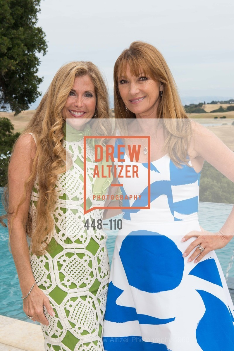 Sherry Cagan, Jane Seymour, LYME AID 2015 Benefiting the Bay Area Lyme Foundation, Private Residence, May 16th, 2015,Drew Altizer, Drew Altizer Photography, full-service event agency, private events, San Francisco photographer, photographer California