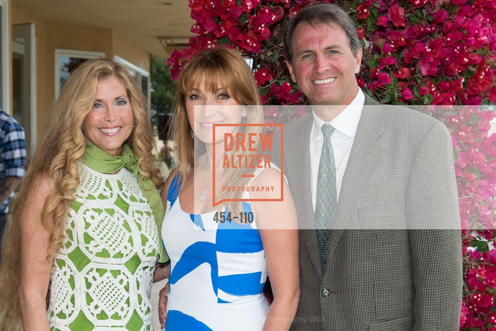 Sherry Cagan, Jane Seymour, Laird Cagan, LYME AID 2015 Benefiting the Bay Area Lyme Foundation, Private Residence, May 16th, 2015,Drew Altizer, Drew Altizer Photography, full-service agency, private events, San Francisco photographer, photographer california