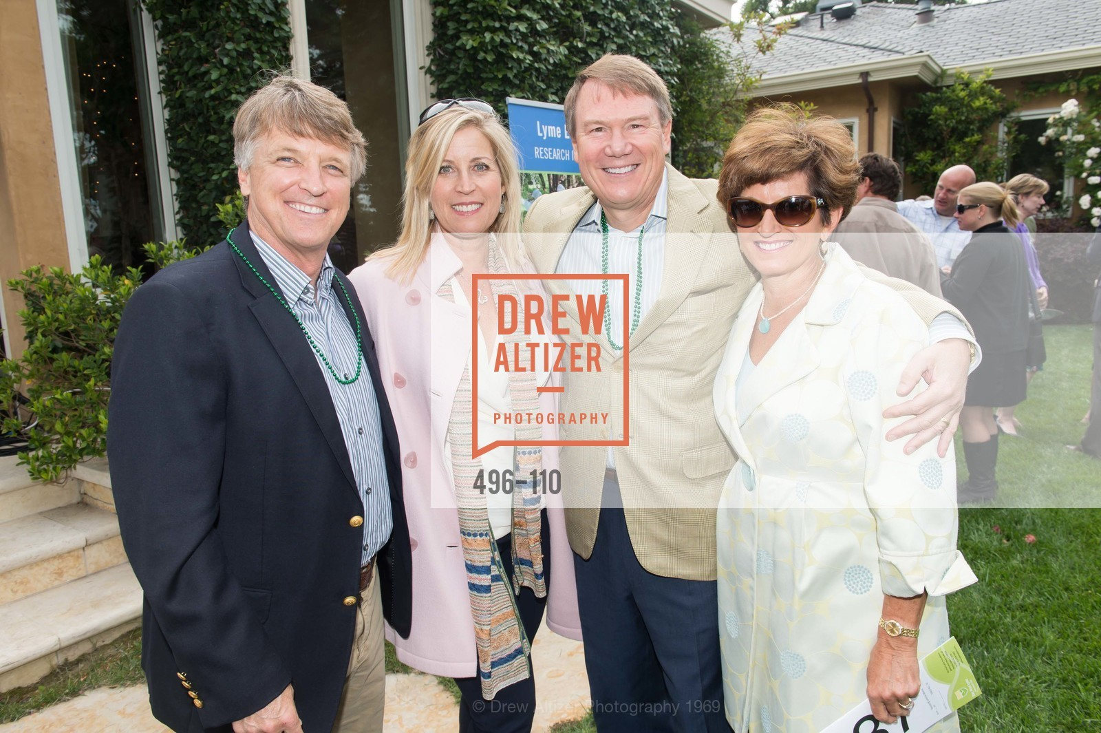 Bert Inch, Jane Inch, Don Morris, Kathy Morris, LYME AID 2015 Benefiting the Bay Area Lyme Foundation, Private Residence, May 16th, 2015,Drew Altizer, Drew Altizer Photography, full-service agency, private events, San Francisco photographer, photographer california