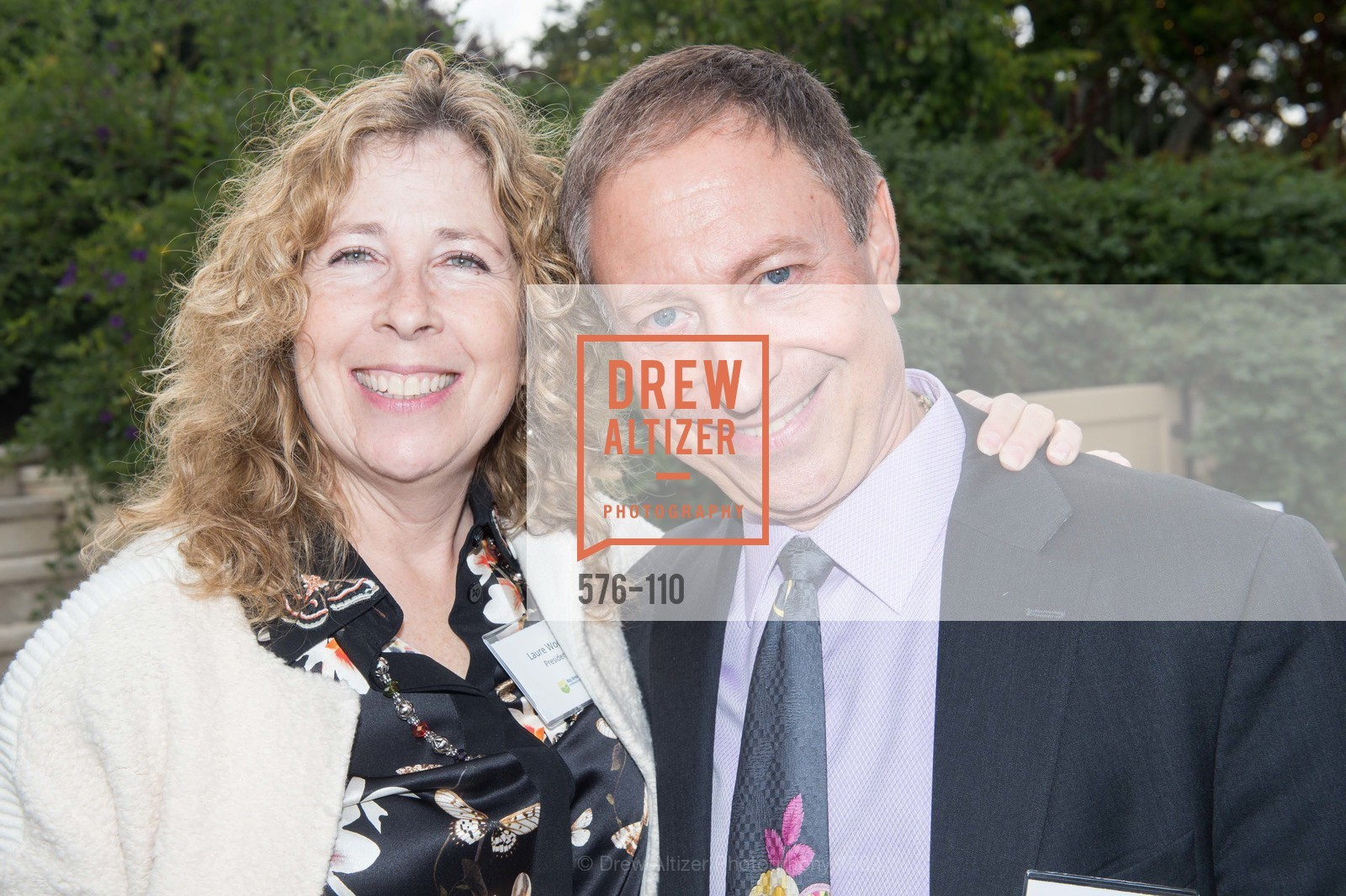 Laure Woods, Richard Horowitz, LYME AID 2015 Benefiting the Bay Area Lyme Foundation, Private Residence, May 16th, 2015