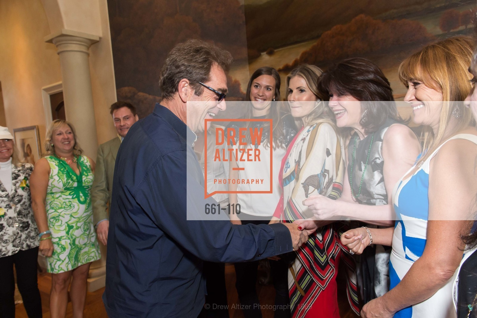 Huey Lewis, Elaine Mellis, Jane Seymour, LYME AID 2015 Benefiting the Bay Area Lyme Foundation, Private Residence, May 16th, 2015