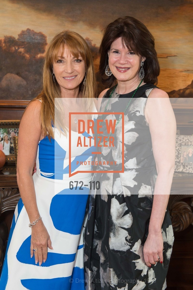 Jane Seymour, Elaine Mellis, LYME AID 2015 Benefiting the Bay Area Lyme Foundation, Private Residence, May 16th, 2015,Drew Altizer, Drew Altizer Photography, full-service event agency, private events, San Francisco photographer, photographer California