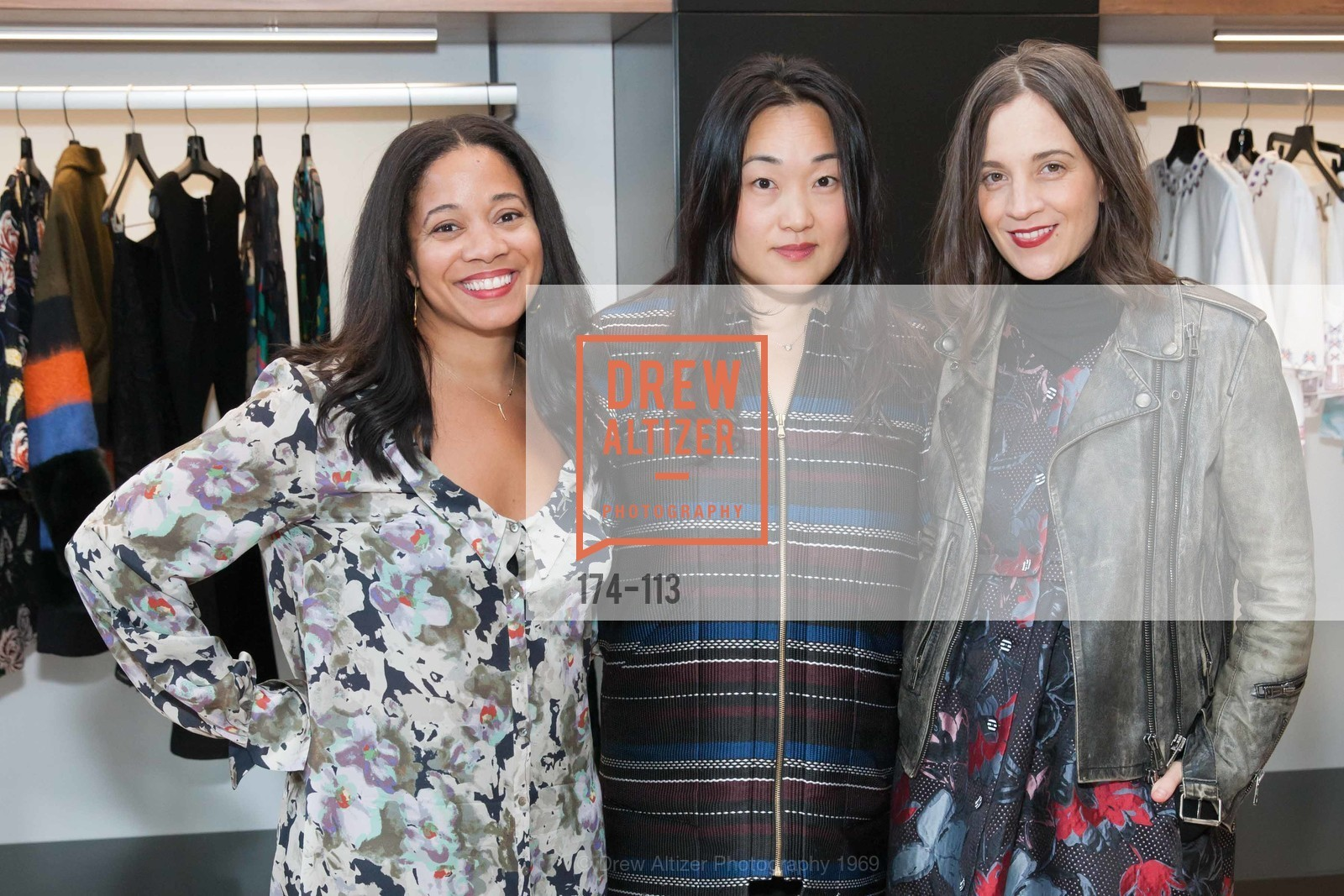 Maloni Goss, Mary Song, Erin Beatty, Betty Lin VIP Pre-Opening Cocktails, Betty Lin. 3625 Sacramento Street, May 18th, 2015,Drew Altizer, Drew Altizer Photography, full-service agency, private events, San Francisco photographer, photographer california