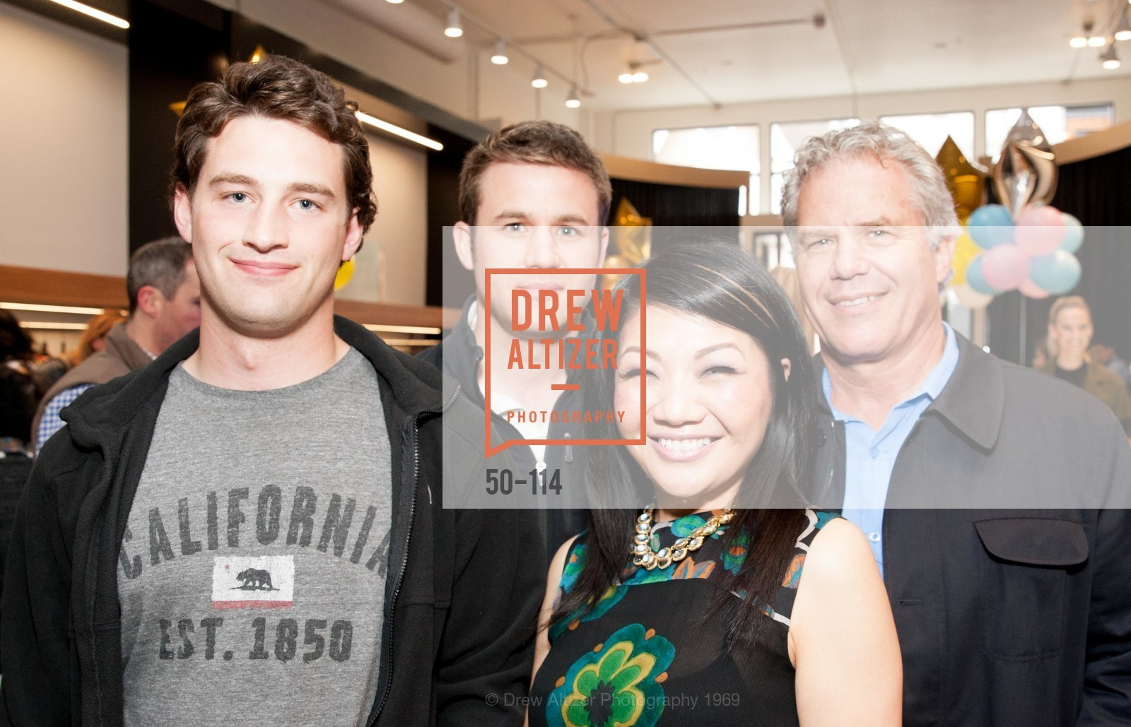Michael Bruno, Jordan Bruno, Betty Lin, Lee Bruno, Betty Lin Store Opening Party, Betty Lin. 3625 Sacramento Street, May 19th, 2015,Drew Altizer, Drew Altizer Photography, full-service agency, private events, San Francisco photographer, photographer california