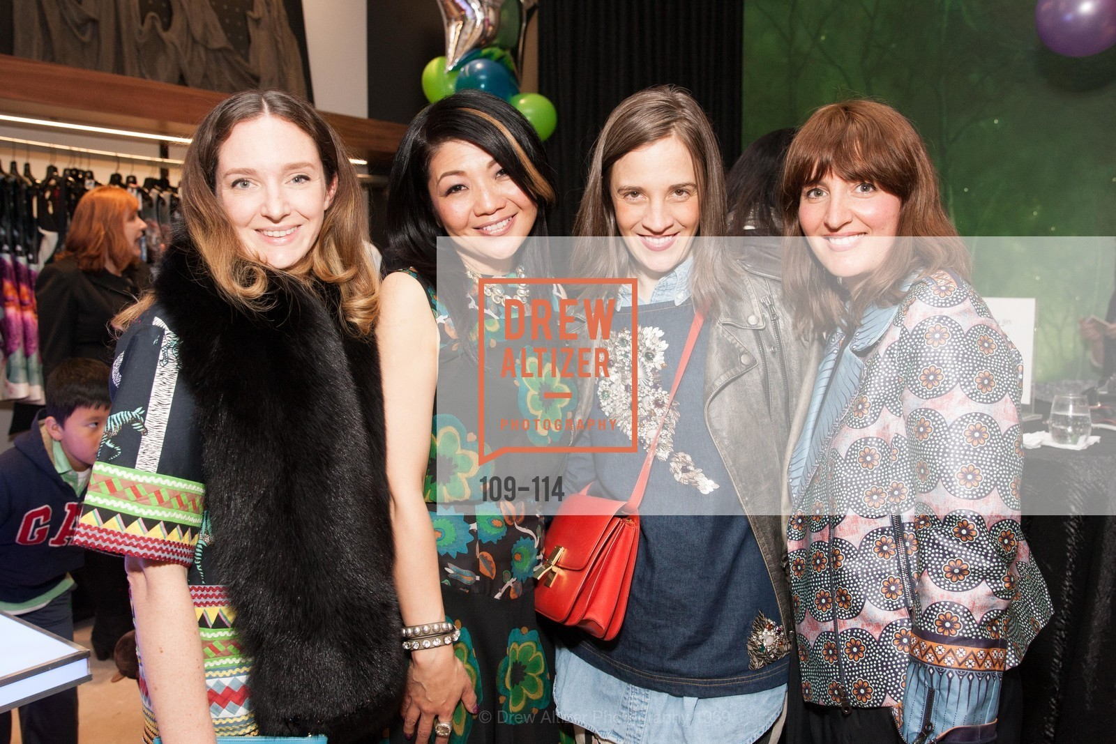 Kelly Punscall, Betty Lin, Erin Beatty, Trina Patini, Betty Lin Store Opening Party, Betty Lin. 3625 Sacramento Street, May 19th, 2015,Drew Altizer, Drew Altizer Photography, full-service agency, private events, San Francisco photographer, photographer california