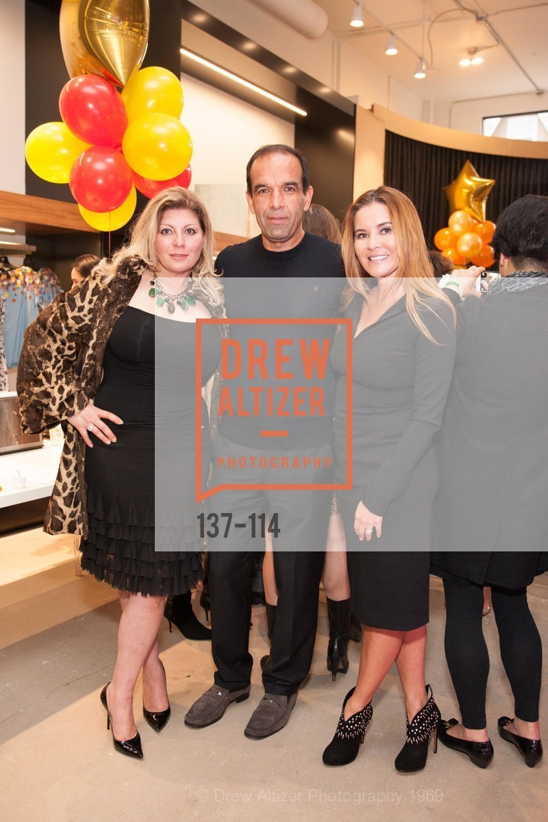 Marjan Sariva, Tom Sariva, Judy Davies, Betty Lin Store Opening Party, Betty Lin. 3625 Sacramento Street, May 19th, 2015,Drew Altizer, Drew Altizer Photography, full-service agency, private events, San Francisco photographer, photographer california
