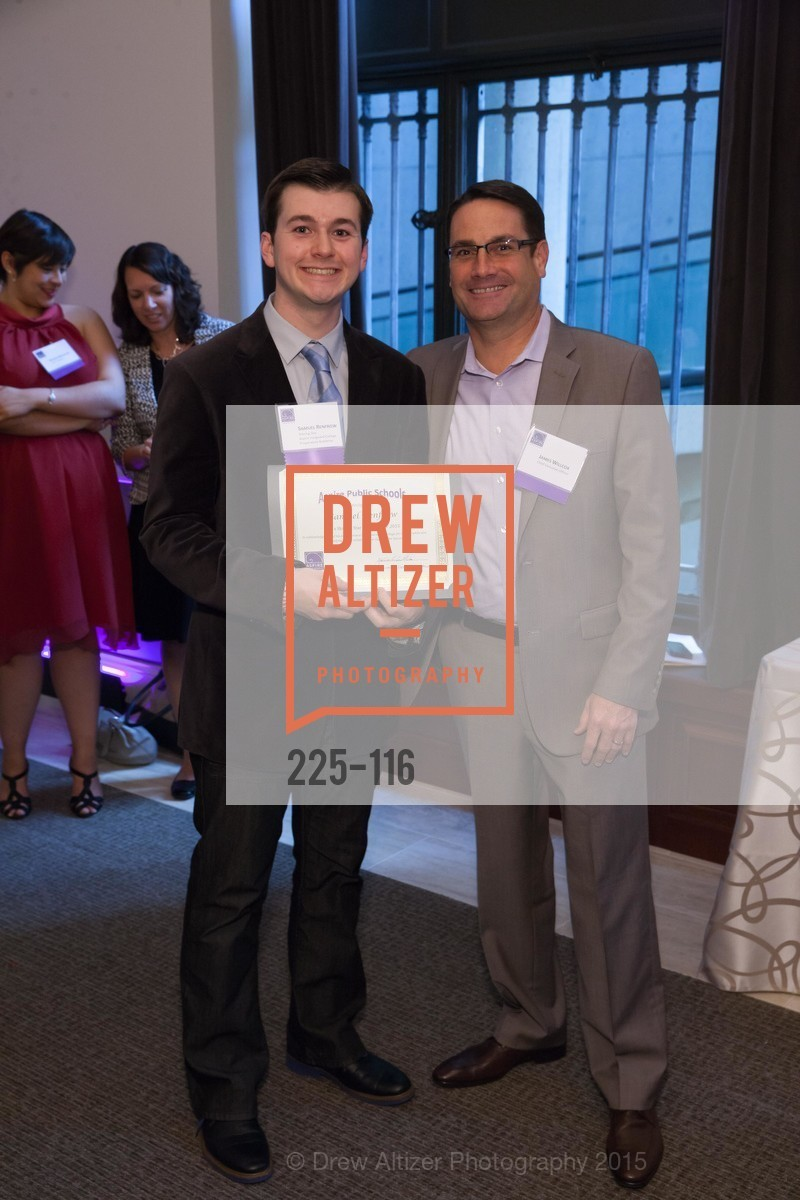 Samuel Renfrow, James Willcox, Aspire Public Schools 2nd Annual Gala, Bently Reserve, May 20th, 2015,Drew Altizer, Drew Altizer Photography, full-service agency, private events, San Francisco photographer, photographer california