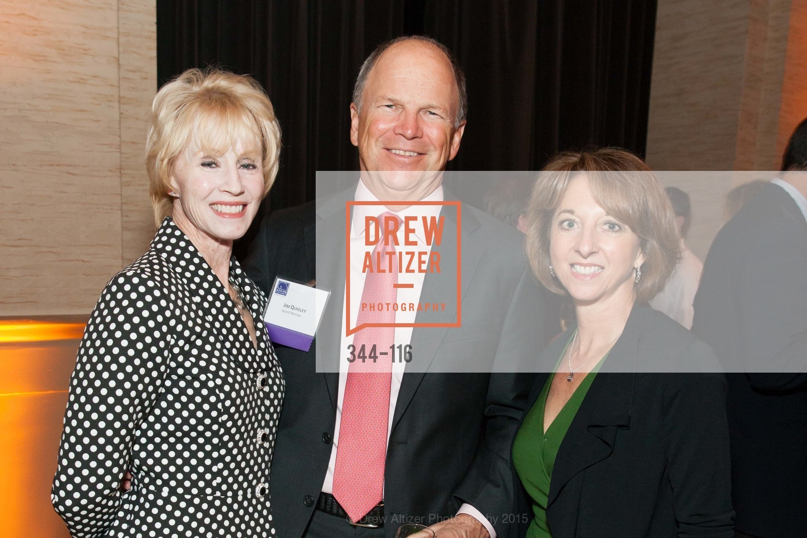 Jim Quigley, Teresa Briggs, Bonnie Quigley, Aspire Public Schools 2nd Annual Gala, Bently Reserve, May 20th, 2015,Drew Altizer, Drew Altizer Photography, full-service event agency, private events, San Francisco photographer, photographer California