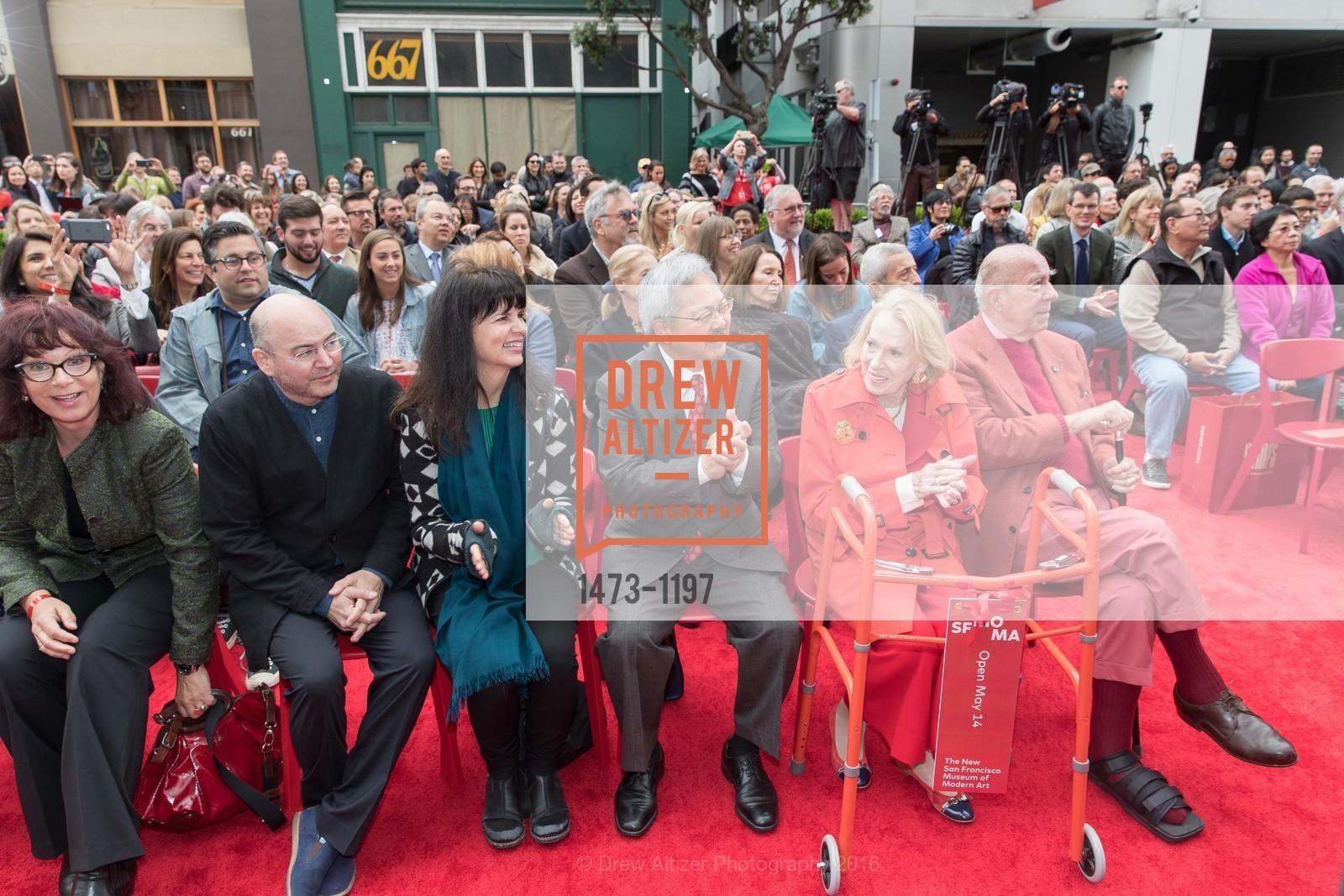 Craig Dykers, Elaine Molinar, Ed Lee, Charlotte Shultz, George Shultz, Photo #1473-1197
