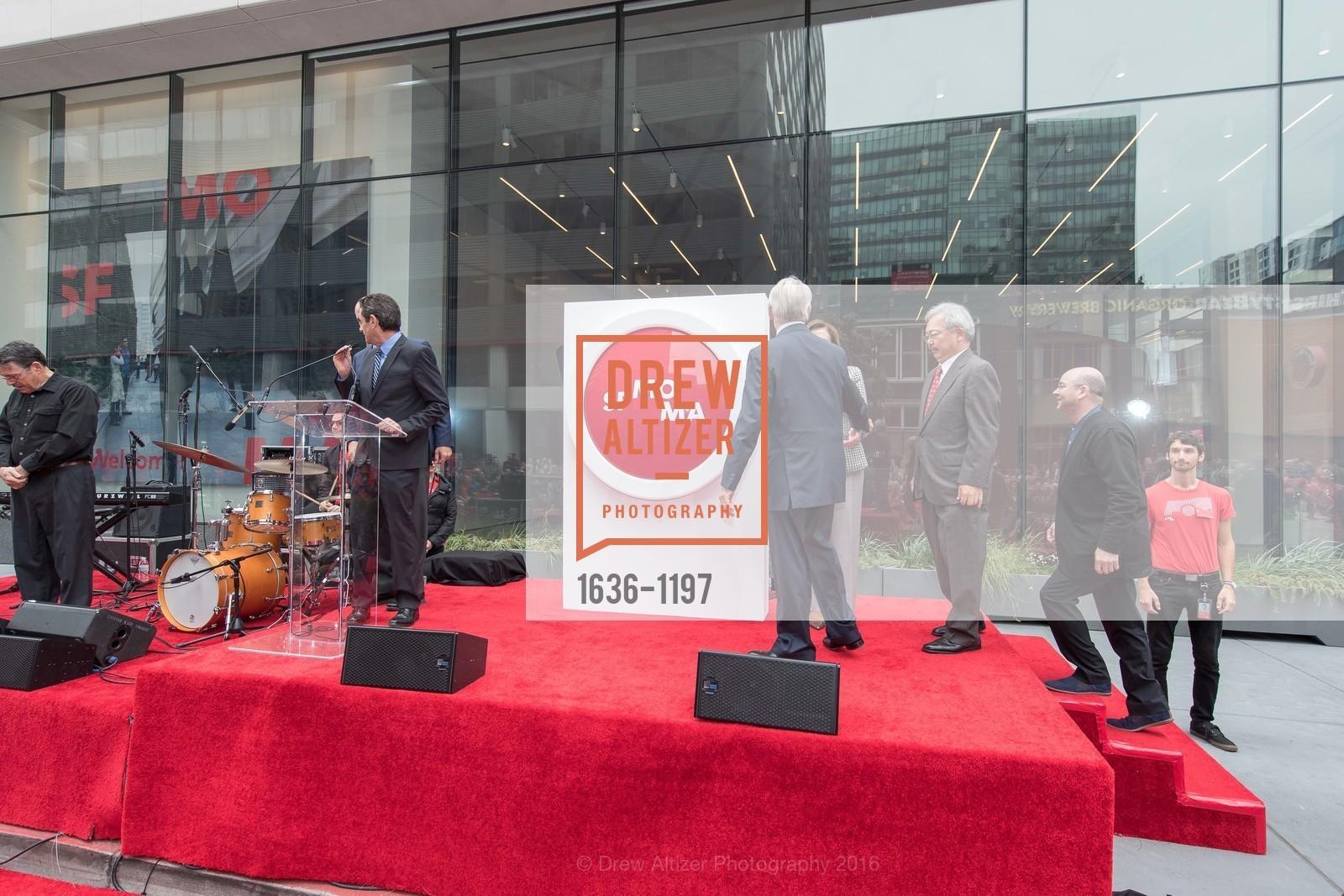 Bob Fisher, Neal Benezra, Nancy Pelosi, Ed Lee, Craig Dykers, Photo #1636-1197