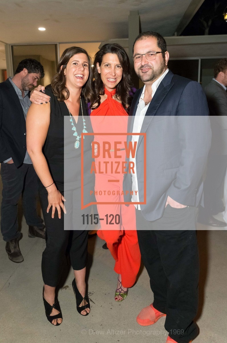 Lauren Sherman, Tina Sharkey, Shervin Pishevar, SHYP Los Angeles Launch Party, Simon House. 1113 North Hillcrest Road, May 19th, 2015