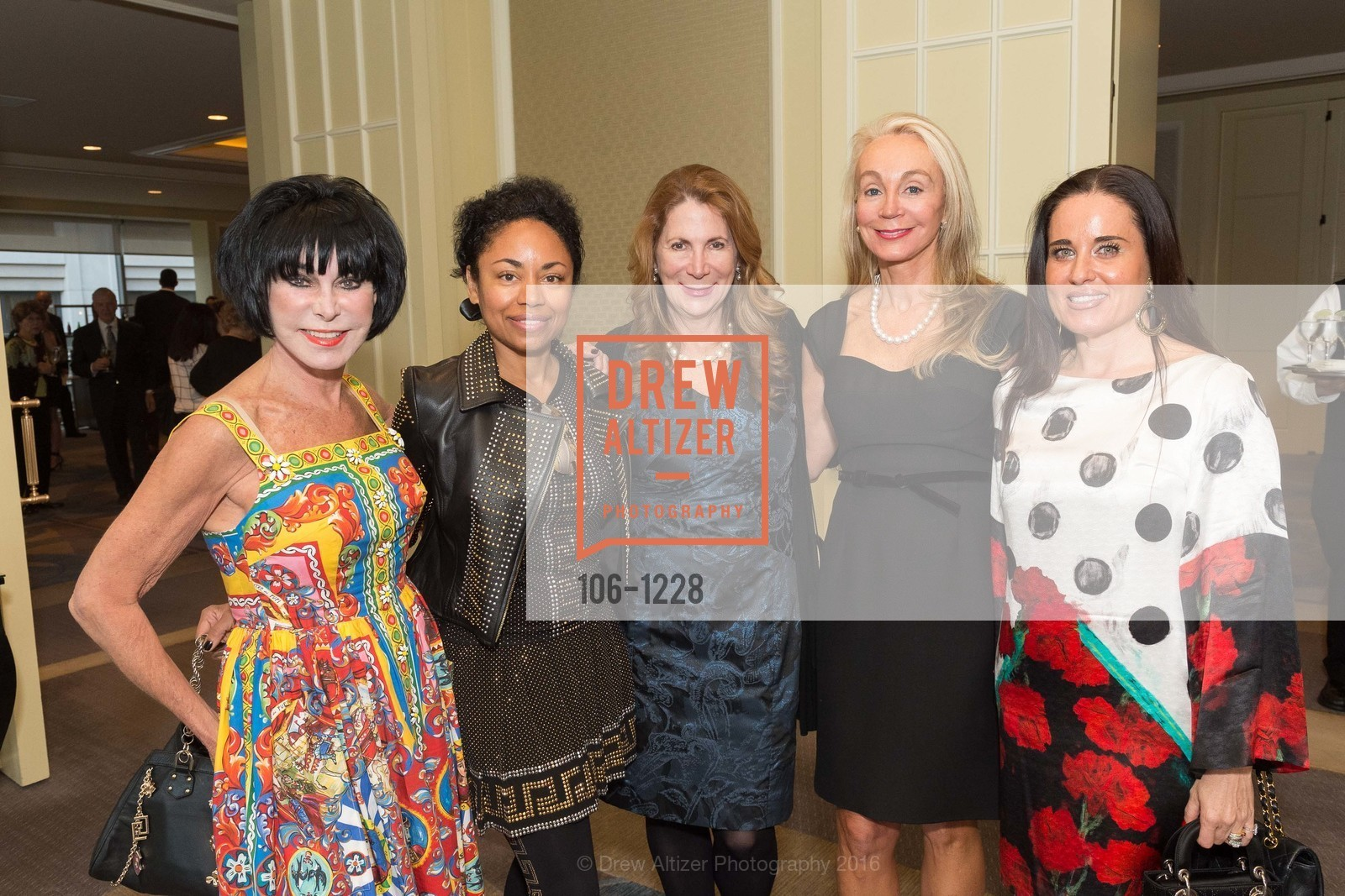 Marilyn Cabak, Tanya Powell, Patricia Ferrin Loucks, Giselle Anna Parry, Natalia Urrutia, Photo #106-1228