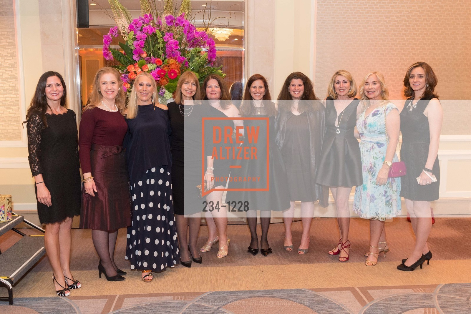 Selin Wold, Carol Benz, Betsy Linder, Carol Louie, Michelle Gilman-Jasen, Amy Wender-Hoch, Pam Zaragoza, Photo #234-1228