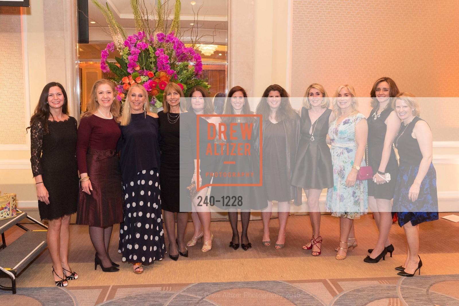 Selin Wold, Carol Benz, Betsy Linder, Carol Louie, Michelle Gilman-Jasen, Amy Wender-Hoch, Pam Zaragoza, Marie Hurabiell, Photo #240-1228