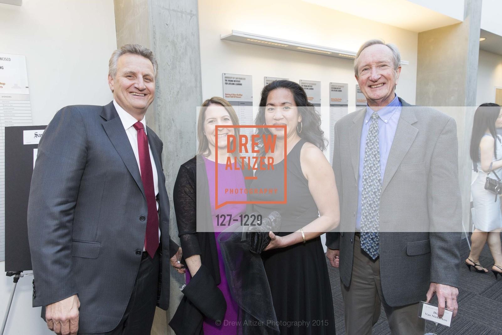 Jeff Johnson, Jennifer Kirschbaum, Kay Phan, Bill van Niekerken, Photo #127-1229