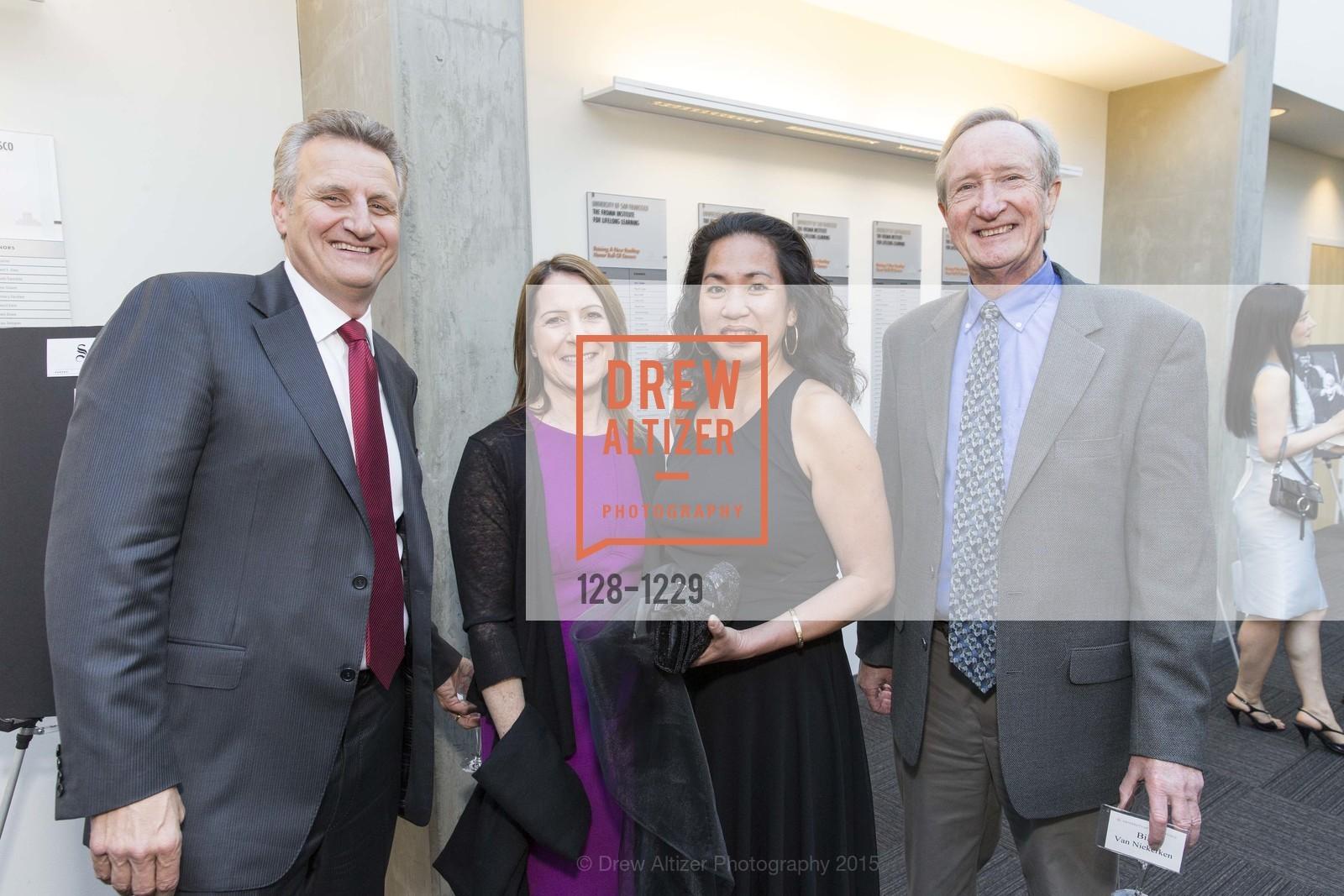 Jeff Johnson, Jennifer Kirschbaum, Kay Phan, Bill van Niekerken, Photo #128-1229